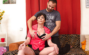 Horny housewife fucking with her lover