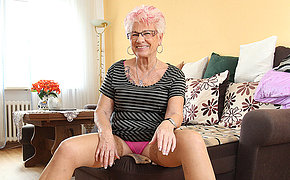 Old Gerdi from Germany is one filthy mature
