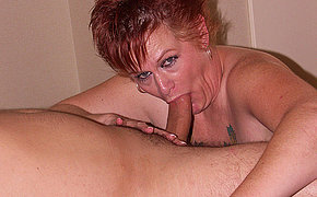 Hot mommy enjoys sex in doggy style