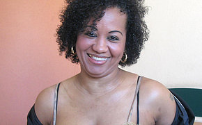 Get juicy with wicked MILF black chick Ana Silvia