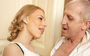 Awesome grandfather doing a hot bitch