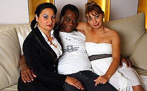 Hot MILF interracial groupsex becomes naughty